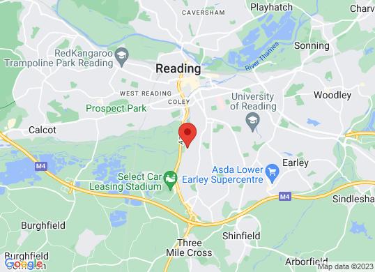 Lexus Reading's location