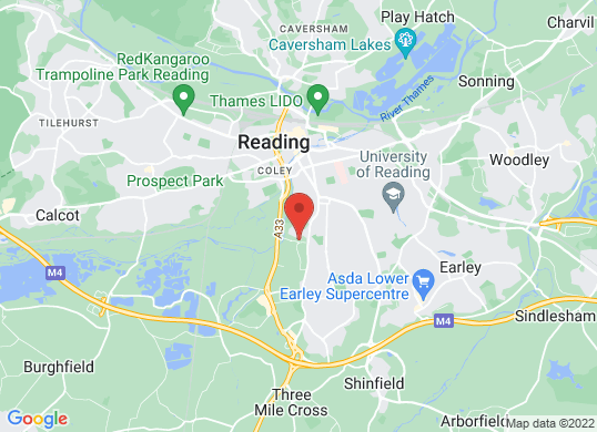 Rygor Reading's location