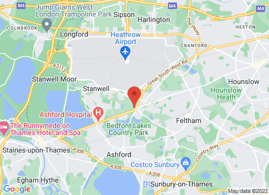 Now Heathrow's location