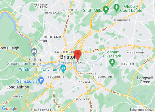 Drive Vauxhall Bristol Central's location