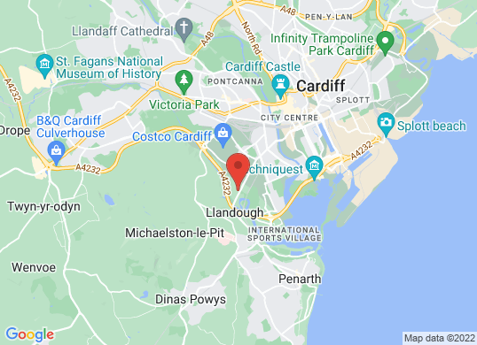 Cardiff Honda's location