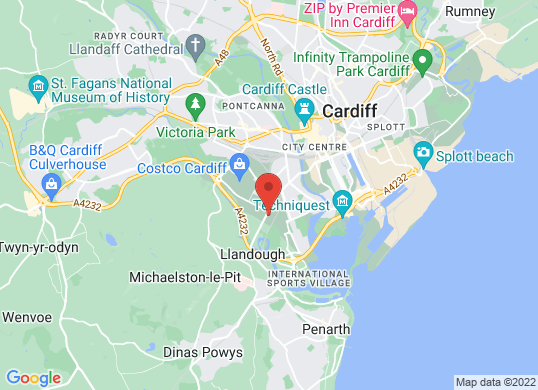 Renault Cardiff's location