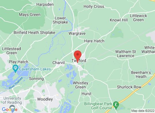 Bulldog (Twyford)'s location