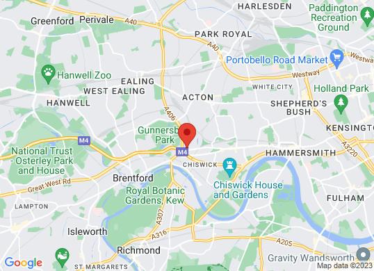 Chiswick Honda Bikes's location