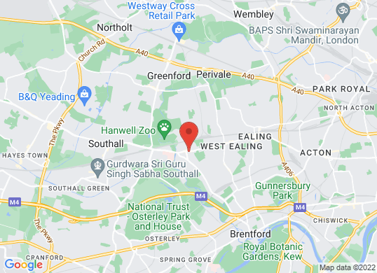 Hanwells of London Limited's location