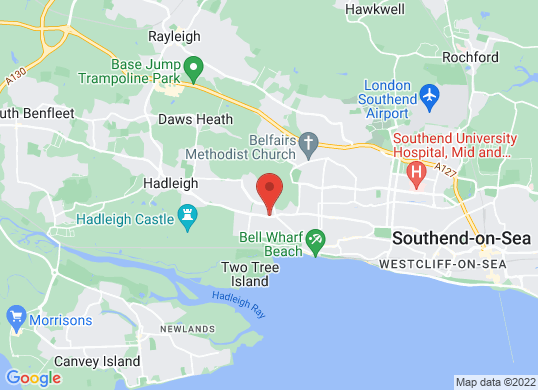 Leigh Service Station's location