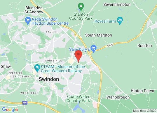 Grange Swindon's location