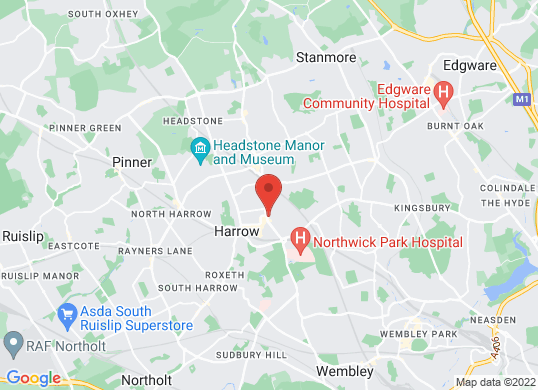 Buntings Of Harrow Ltd's location