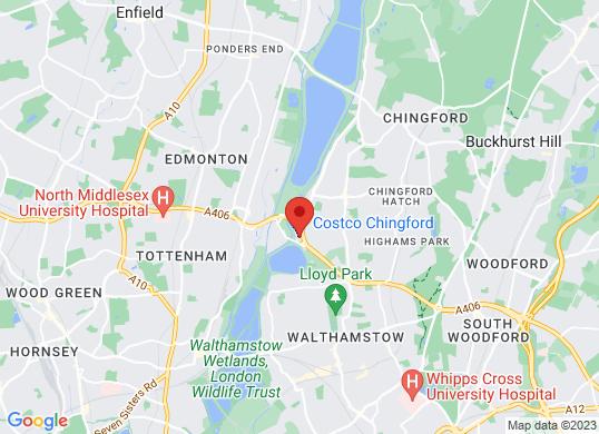 Bristol Street Chingford Vauxhall's location