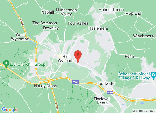 Perrys High Wycombe's location
