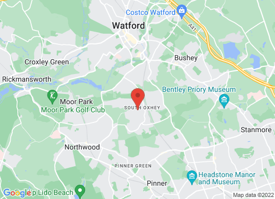 Rickmansworth Sports Cars's location