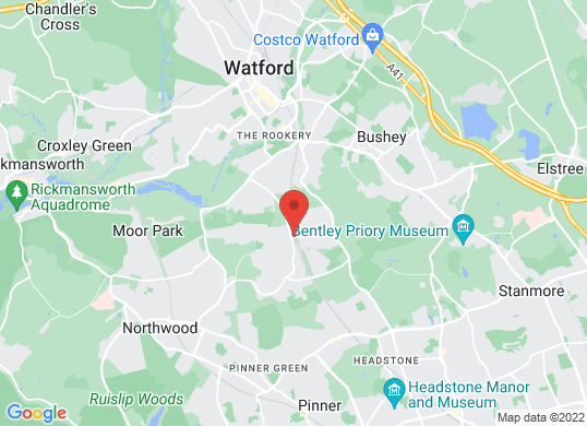 Rickmansworth Sports Cars's location