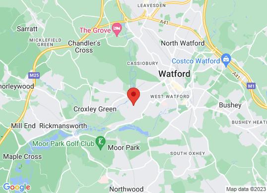 Renault Watford's location
