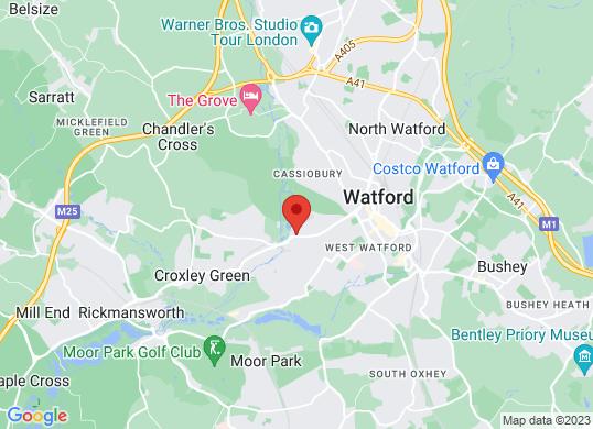 Van Monster Watford's location