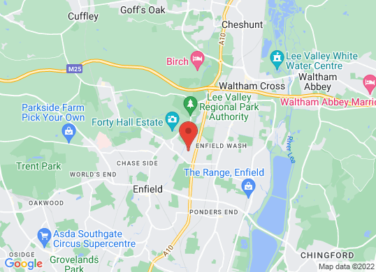 M Veale's location
