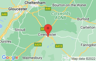 Baylis Vauxhall Cirencester's location