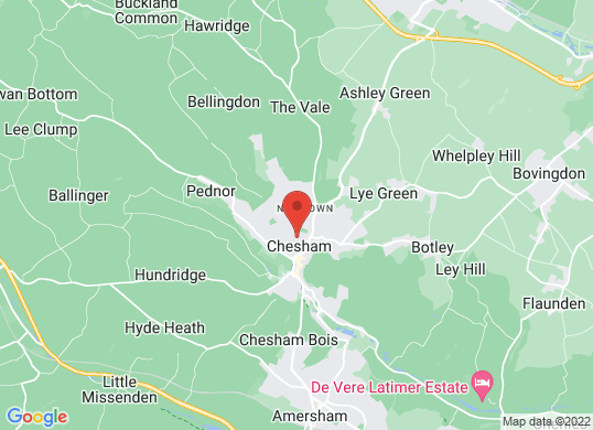 Chesham Left Hand Drive Centre's location