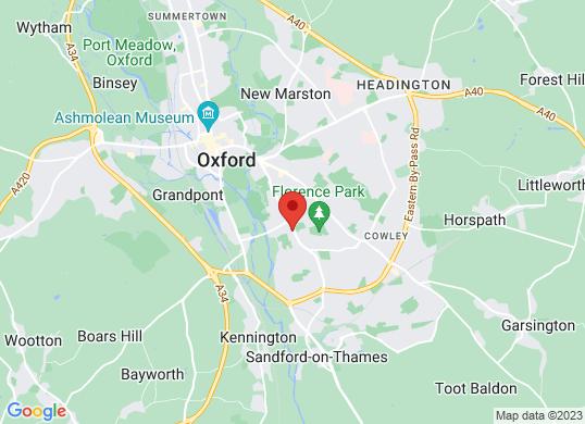 Bristol Street Oxford Peugeot's location