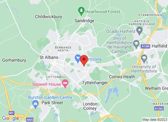 St Albans Car Centre's location