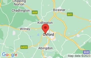 Johnsons Volvo Oxford's location