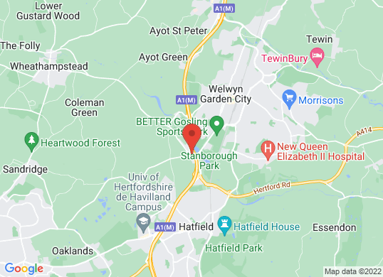 Grange Welwyn (Aston Martin) (Jaguar)'s location
