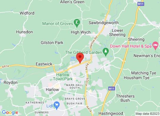 Bristol Street Harlow Peugeot's location