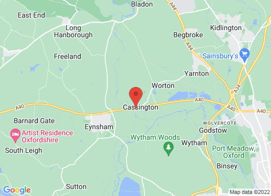 Rygor Oxford's location