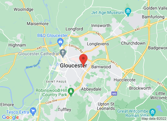 Rygor Gloucester's location