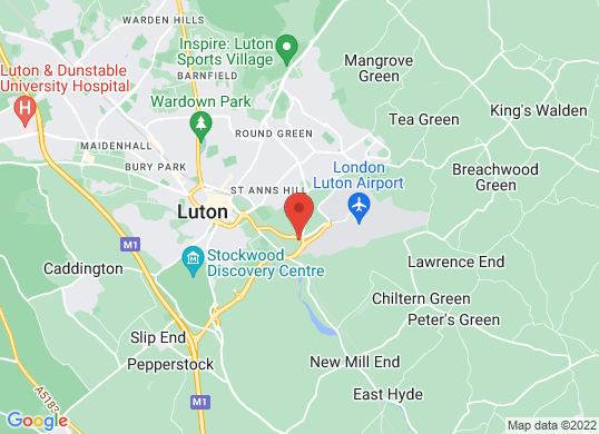 Thurlow Nunn (Luton)'s location