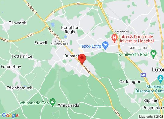 Vanwise Dunstable's location