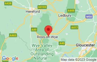Baylis Vauxhall Ross-on-Wye's location