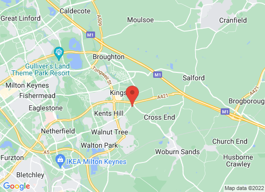 Thurlow Nunn (Milton Keynes)'s location