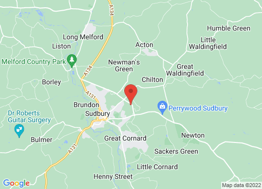 Lookers Sudbury Ford (Ford)'s location