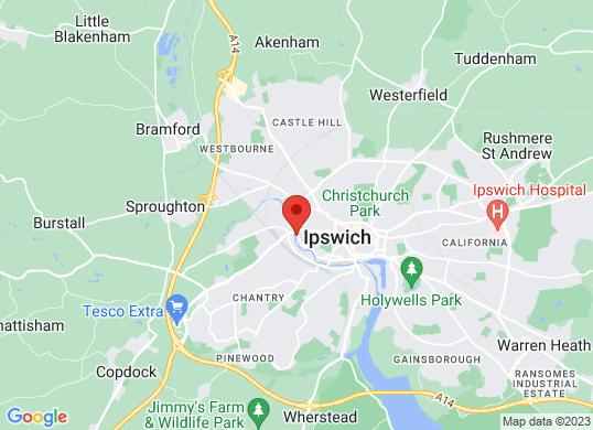 EMG Ipswich's location
