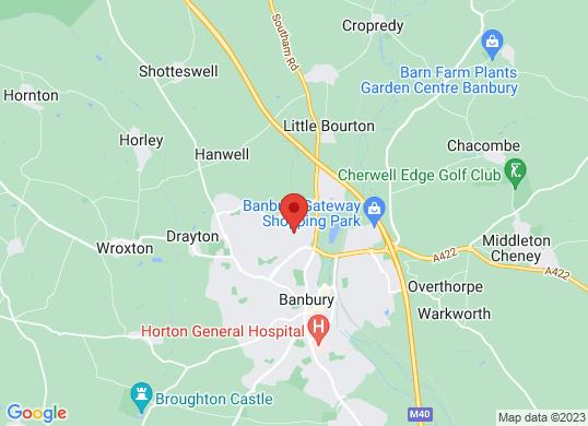 Eden Vauxhall Banbury's location