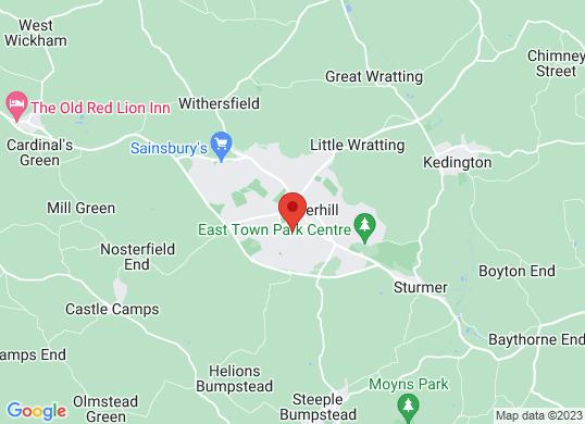 Drive Vauxhall Haverhill's location