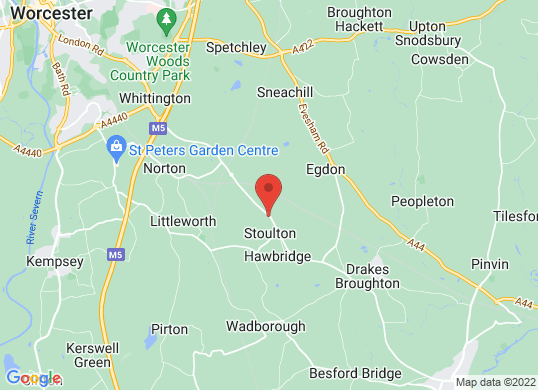 Pershore Motor Group's location