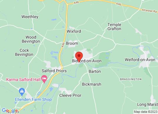 Bidford Motor Company's location