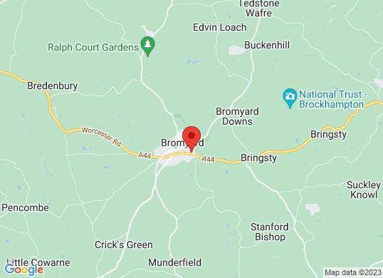 Bishops Of Bromyard Limited's location