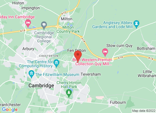 Marshall Cambridge (SEAT)'s location