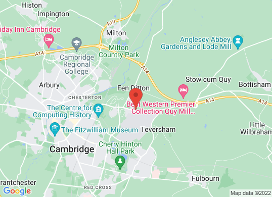 Marshall Cambridge (Ford)'s location