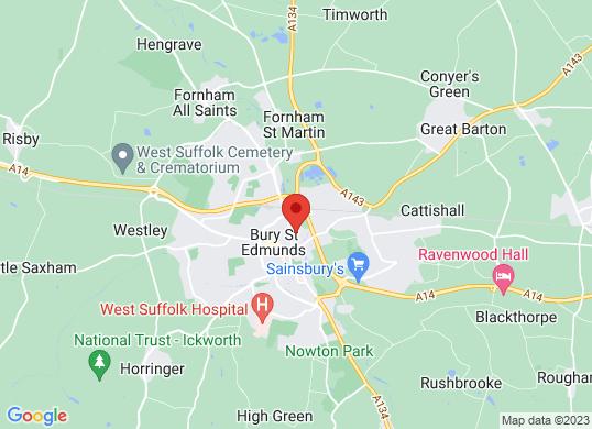 Drive Vauxhall Bury St Edmunds's location