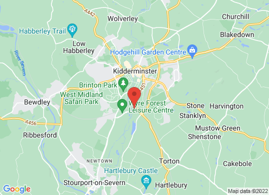 Rygor Kidderminster's location