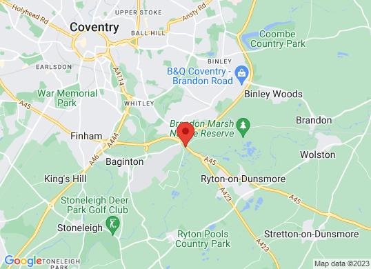Lexus Coventry's location