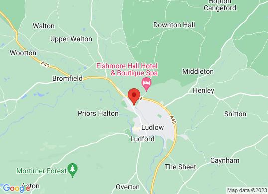 Ludlow Motors Ltd's location