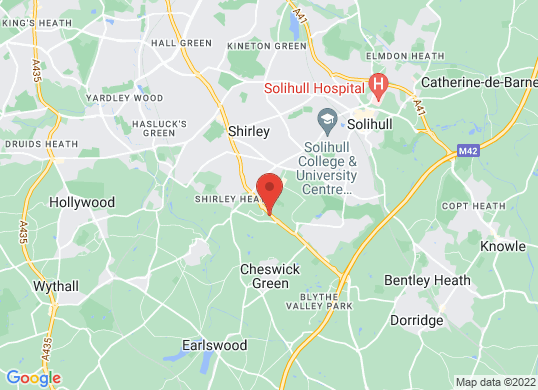 Listers U Solihull's location
