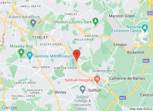 Mercedes-Benz of Solihull (Sales)'s location
