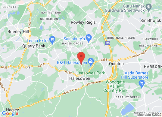 Halesowen Motor House 's location