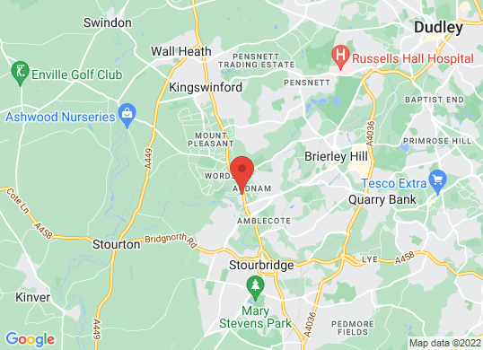 Stourbridge VW's location