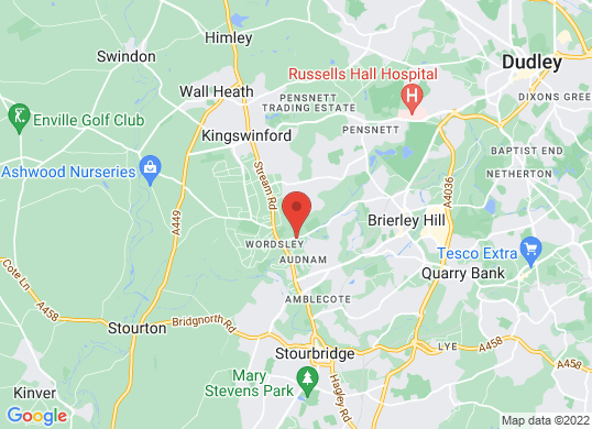 Wordsley Motor Co's location